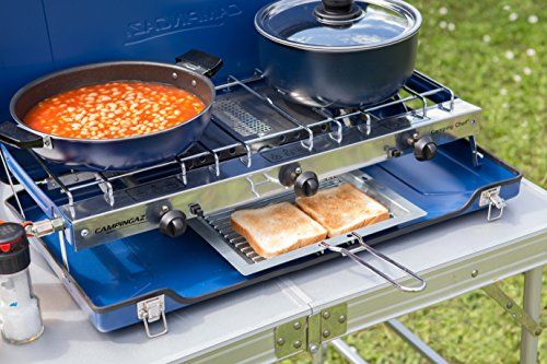Camping Gas Folding Chef Gas Cooker Stove Grill Alfresco